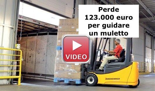 Perde finanziamento di 123.000 euro bando inail