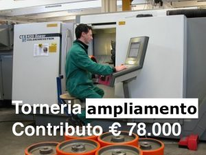 incentivi acquisto tornio ampliamento bando inail 65%