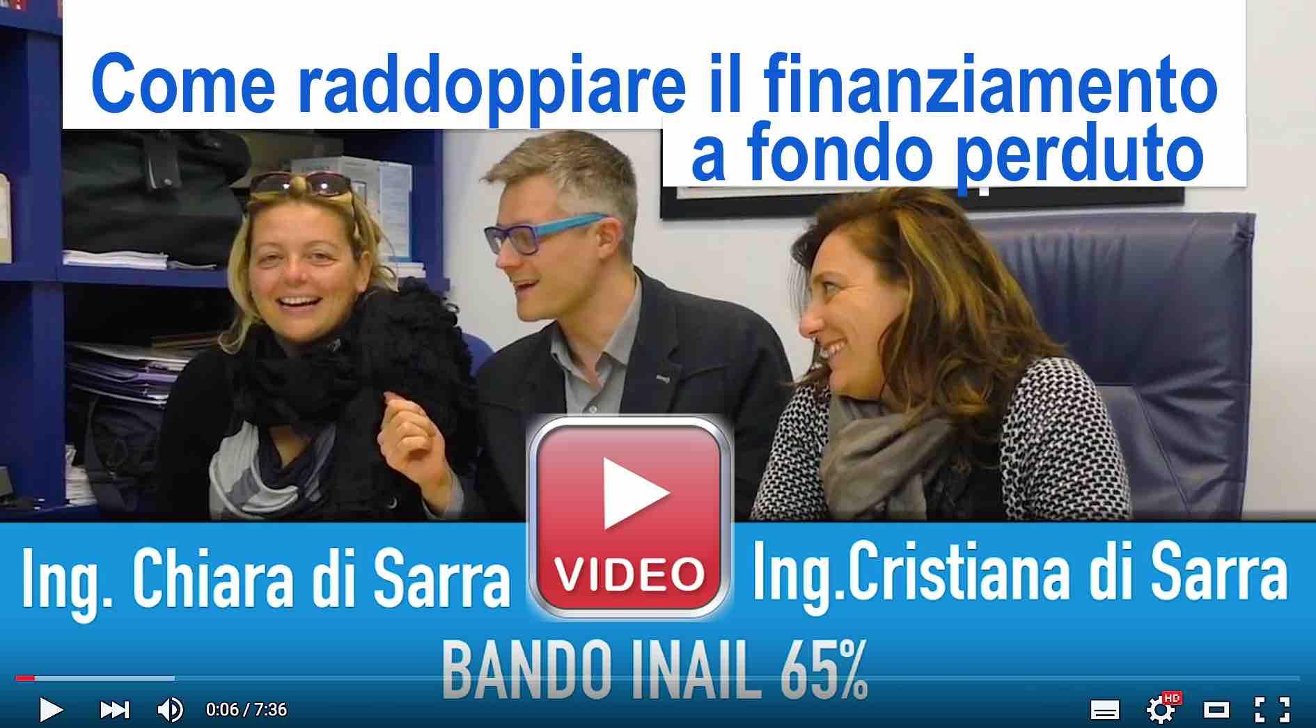 Bando inail 65% Raddoppiare finanziamento ContributiRegione Centurioni