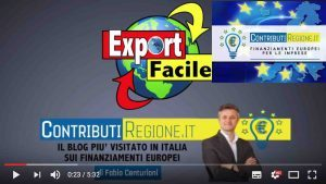 VIDEO INTERVISTA AL RESPONSABILE REGIONALE BANDI ESPORTAZIONE