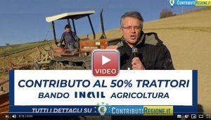 Contributo al 50% Bando Inail Agricoltura