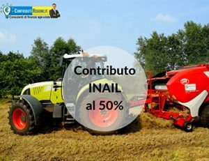 agricoltura 50% Bando Inail 2019