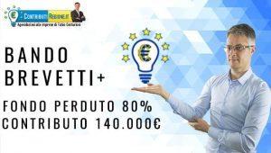 Nuovo Bando 2020: brevetti +