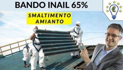 Agevolazioni smaltimento amianto bando Inail